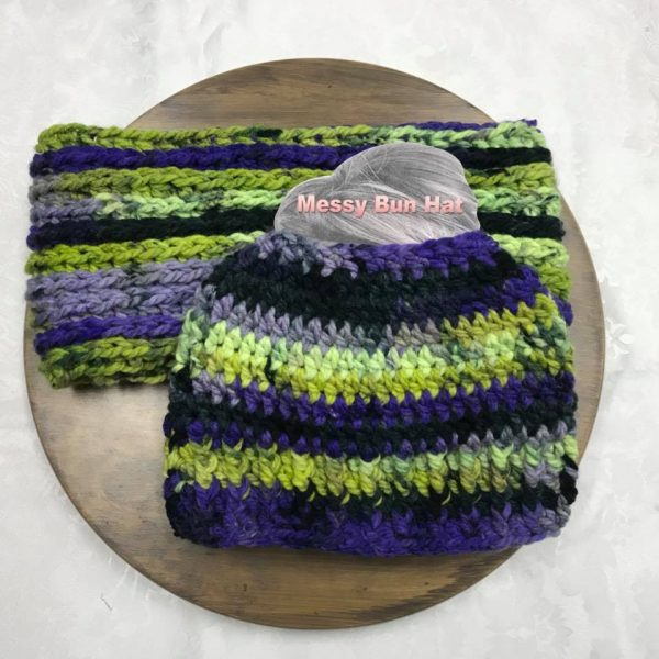Dragonfly Bun Hat Set