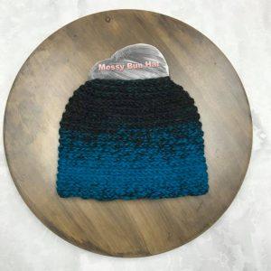 Aqua Bun Hat